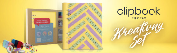 Filofax Clipbook kreatívny set